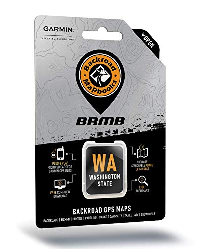Check Out This Washington State Backroad GPS Maps - Micro Sd Card with Adapter for Garmin GPS