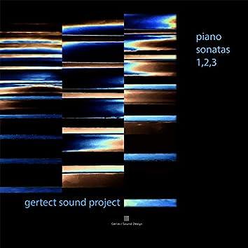 Piano Sonatas 1, 2, 3