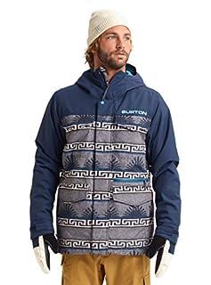 Burton Mens Covert Jacket Slim, Spurwink/Dress Blue, Small