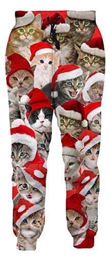Breathable Decent Size Lounge Joggers Ridiculous Hilarious Joke Jogging Green Nebular Space Christmas Fly Cat Travel Tacky Trippy Rave Sweat Pants for Girls Womens Female