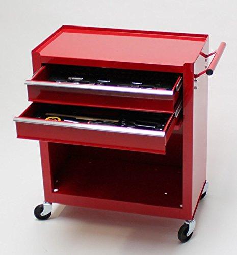 TronicXL Premium Werkzeugwagen Werkstattwagen Rollwagen mit Werkzeug Werkstatt Vintage Retro Design