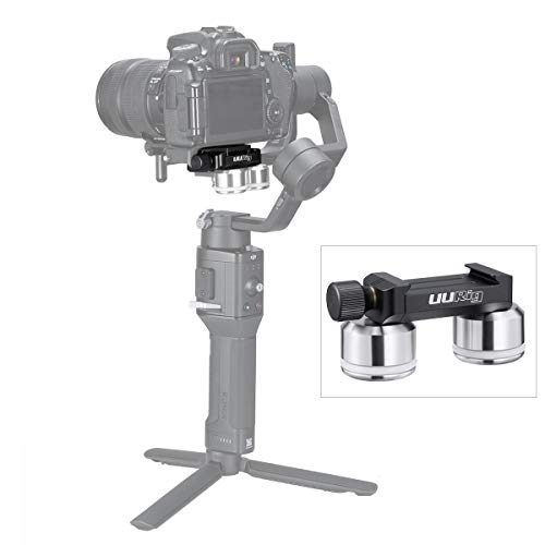 UURig R025 Counterweight to Quickly Balance Gimbal Stabilizer with Camera Lens, Arca-Swiss Mount Universal for DJI Ronin S/Ronin-SC