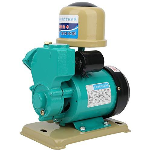 Bomba de refuerzo de agua autocebante de 128 W 220 V, calefacción solar caliente fría automática para el hogar, diámetro de la tubería de 1 pulgada, interruptor de presión de 1,2-2,0 kgf/cm³