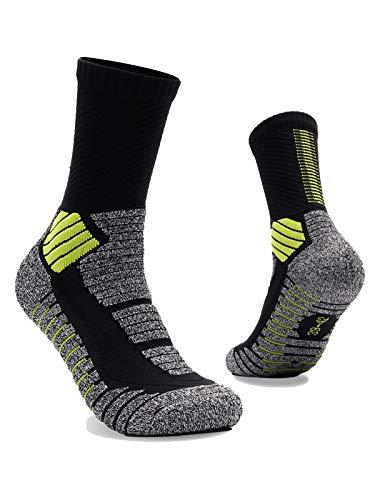 RUXIYI Calcetines de baloncesto para hombre Calcetines deportivos, Calcetines para correr, Transpirable, Duradero, Adecuado para baloncesto, fútbol, fitness, tenis, trotar.