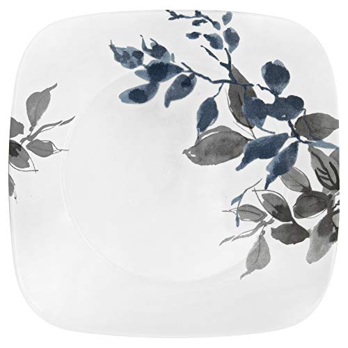 Corelle Boutique Square Lunch Plate Kyoto Night 9in (22.5cm) 6 Pack