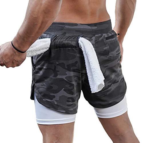 Knowooh Zwemshorts voor mannen Jongens zwembroek Zwembroek Sportieve body-knuffelende zwemshorts Badstrand shorts Elastische tailleband met trekkoord Strakke board shorts