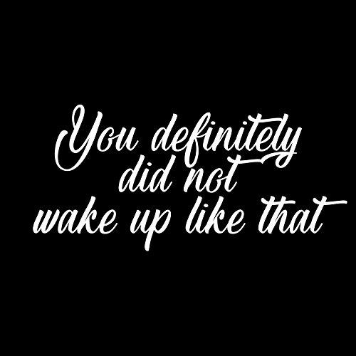 Je hebt zeker niet wakker als die 6