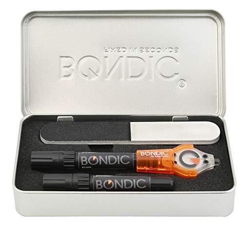 BONDIC Starter Plus - DAS ORIGINAL seit 2010 - UV-Reparatursystem mit lichthärtendem Flüssigkunststoff Klebstoff - verbinden, fixieren, modellieren, reparieren