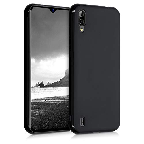 kwmobile Hülle kompatibel mit Blackview A60 - Hülle Silikon - Soft Handyhülle - Handy Hülle in Schwarz matt