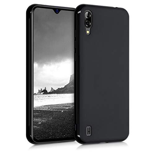 kwmobile Hülle kompatibel mit Blackview A60 - Handyhülle - Handy Case in Schwarz matt
