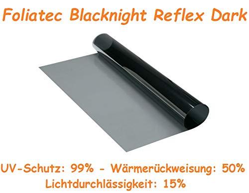 Foliatec Blacknight Reflex Dark Tönungsfolie Meterware mit Wärmeschutz 51cm