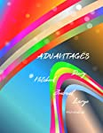 ADVANTAGES: Notebook,Diary,Journal,Large(120 Pages,Line,8.5x11) (Dream Journal)