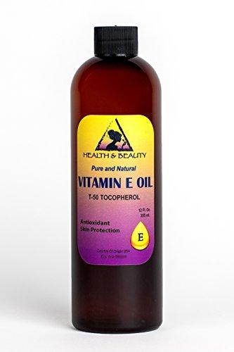 Tocopherol T-50 Vitamin E Oil Anti Aging Natural Premium Pure 12 oz
