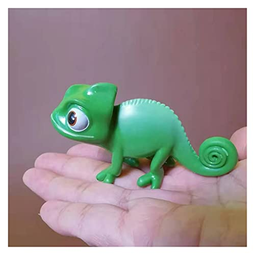 Yyoutop Chamäleon/Puppenhaus/Miniatur/Schöne süße/feengarten Garten GNOME/Moss Terrarium Dekor/Handwerk/Bonsai/DIY Lieferungen/Figur/Modell/Spielzeug (Color : 1 Big one)