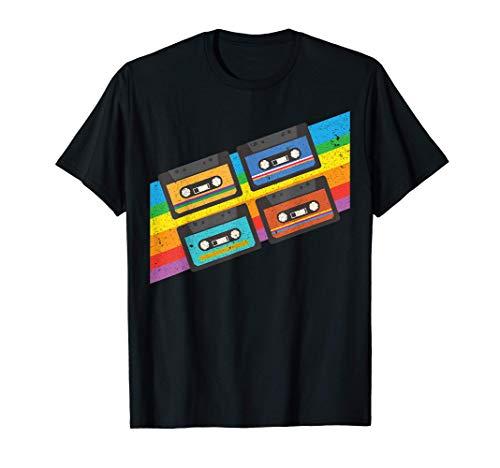 Musique Vintage Old School I Cassettes rétro des années 80 T-Shirt