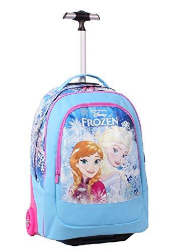 Seven Frozen 2B5001605-512 Zaino con Spallacci a Scomparsa, Poliestere, Azzurro