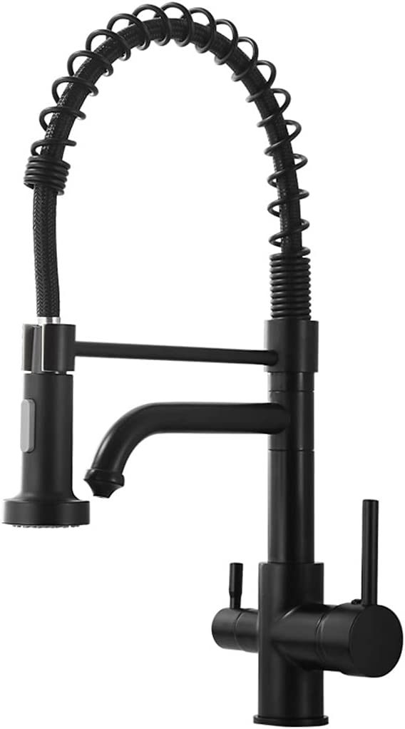 Kitchen Max 41% OFF Faucet With Pull Down Sprayer Handle Single Kit High Arc 4 years warranty