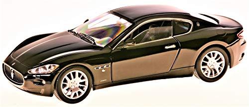 Maserati Gran Turismo, schwarz, 0, Modellauto, Fertigmodell, Motormax 1:24