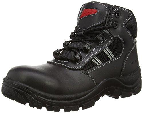 Airside, Stivali di Sicurezza Unisex Adulti, Nero (Nero (Black)), 43,5 EU