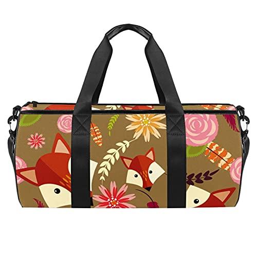 Borsa da palestra per sport e allenamento Duffle Bag Packet Bag per uomini donne robot lampadina, Colore 04, 45x23x23cm/17.7x9x9in,