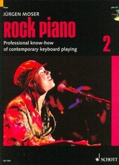ROCK PIANO 2 - arrangiert für Klavier - mit CD [Noten / Sheetmusic] Komponist: MOSER JUERGEN
