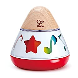 Hape rotating music box for baby Easter Basket