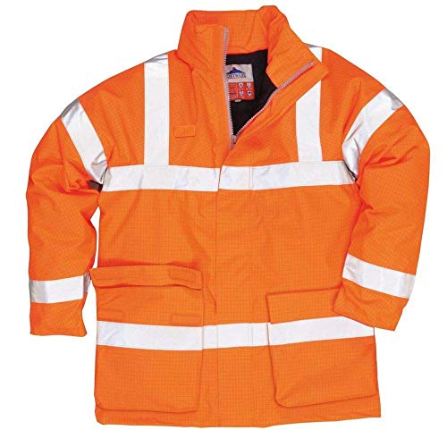 Portwest S778Jacke FR antistatisch, Medium, orange