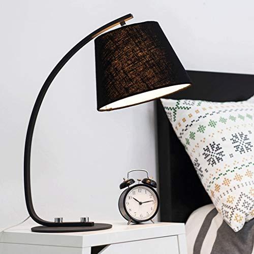 Lámpara de mesita de noche Lámparas de mesa creativa matrimonio decorativo de la sala moderna...