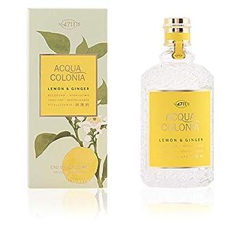 4711 Acqua Colonia Lemon and Ginger Eau de Cologne Spray 5.7 Ounce