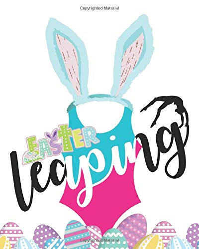 Easter Leaping: Gymnastics Journal Gift For Kids - A Writing Journal To Doodle And Write In - Blank Lined Journaling Diary For Girls