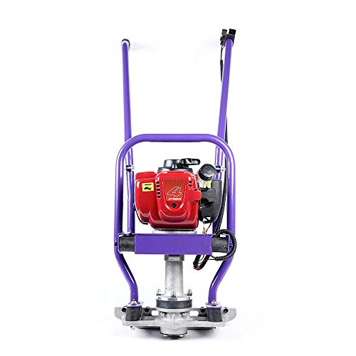 TFCFL 4stroke 35.8cc Gas Powered Engine Mini Tiller Cultivator Concrete Wet Screed Power Screed Cement 1-6M Blade GX35