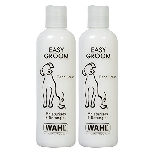 Wahl Dog Shampoo Easy Groom Conditioner for Pets, Pack of Two 250 ml Each