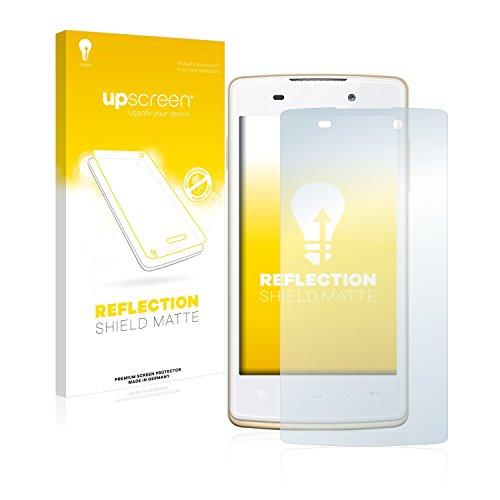 upscreen Entspiegelungs-Schutzfolie kompatibel mit Oppo Joy Plus – Anti-Reflex Bildschirmschutz-Folie Matt