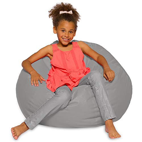 Posh creations bean bag chair for kids, teens, and adults includes...