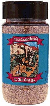Primos Gourmet Foods - NO SALT Grill Mix