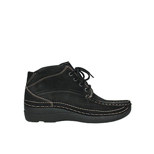 Wolky Comfort Boots Roll Shoot - 90000 schwarz Nubuk - 38