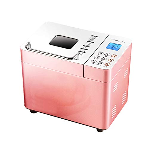 Best Buy! ZTGL Multifunctional Breadmaker, Automatic Compact Fast Bread Maker, LCD Screen, 3 Crust C...