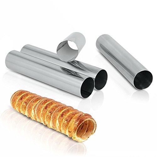 Metaltex Rollitos repostería, Plateado, Estandar