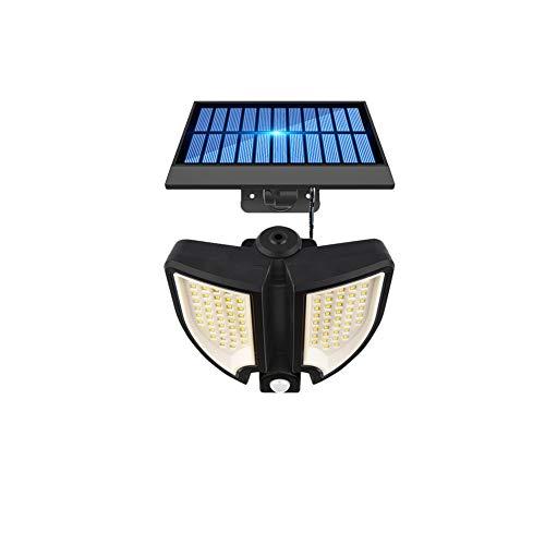 【2020最新版】 Zotonale ソーラーライト センサーライト 2灯式 3つモード 90LED 電気代不要 IP65防水 自動点灯消灯 18W 300LM 光と人感センサー 太陽光充電 省エネ 広範囲照射 防犯ライト 庭 玄関 駐車場 停電防災