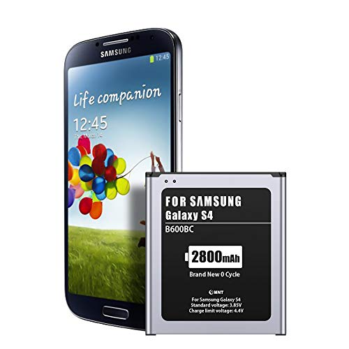 EMNT 2800mAh Akku für Samsung Galaxy S4, Interner Lithium-Ionen-Akku【2020 Hohe Kapazität Galaxy S4 Handy-Akku Akku-Austausch ohne NFC【2 Jahre Garantie】