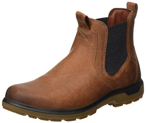 ECCO Herren Whistler Chelsea Boots, Braun (Cognac), 44 EU