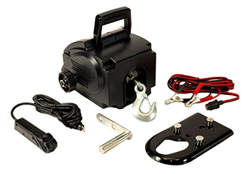 12 Volt Portable WINCH Remote Control Truck SUV Boat Car Vehicle ATV Recovery