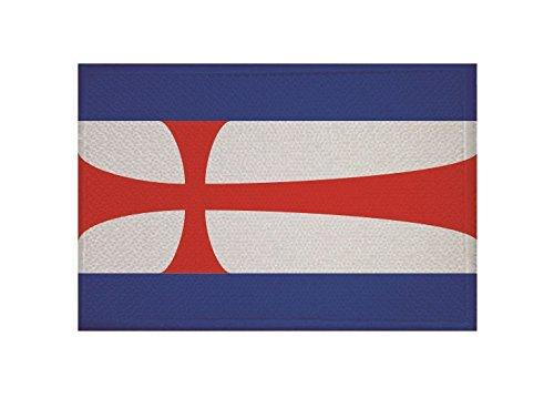 U24 Aufnäher Eisenach Fahne Flagge Aufbügler Patch 9 x 6 cm