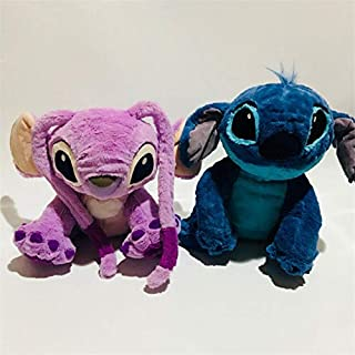 Best Quality - Movies & TV - 1pieces/lot Lilo and Stitch toys 40cm Stitch Angie leroy baby style birthday gift Decorative doll collective edition cartoon toy - by Pasona - 1 PCs