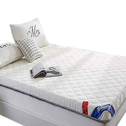 Witte flanel Japanse vloer Futon matras Futon Memory Foam, opvouwbare duurzame zachte matras topper slaapkussen, Tatami Mat, Japanse Bed Roll, opvouwbare Roll Up matras
