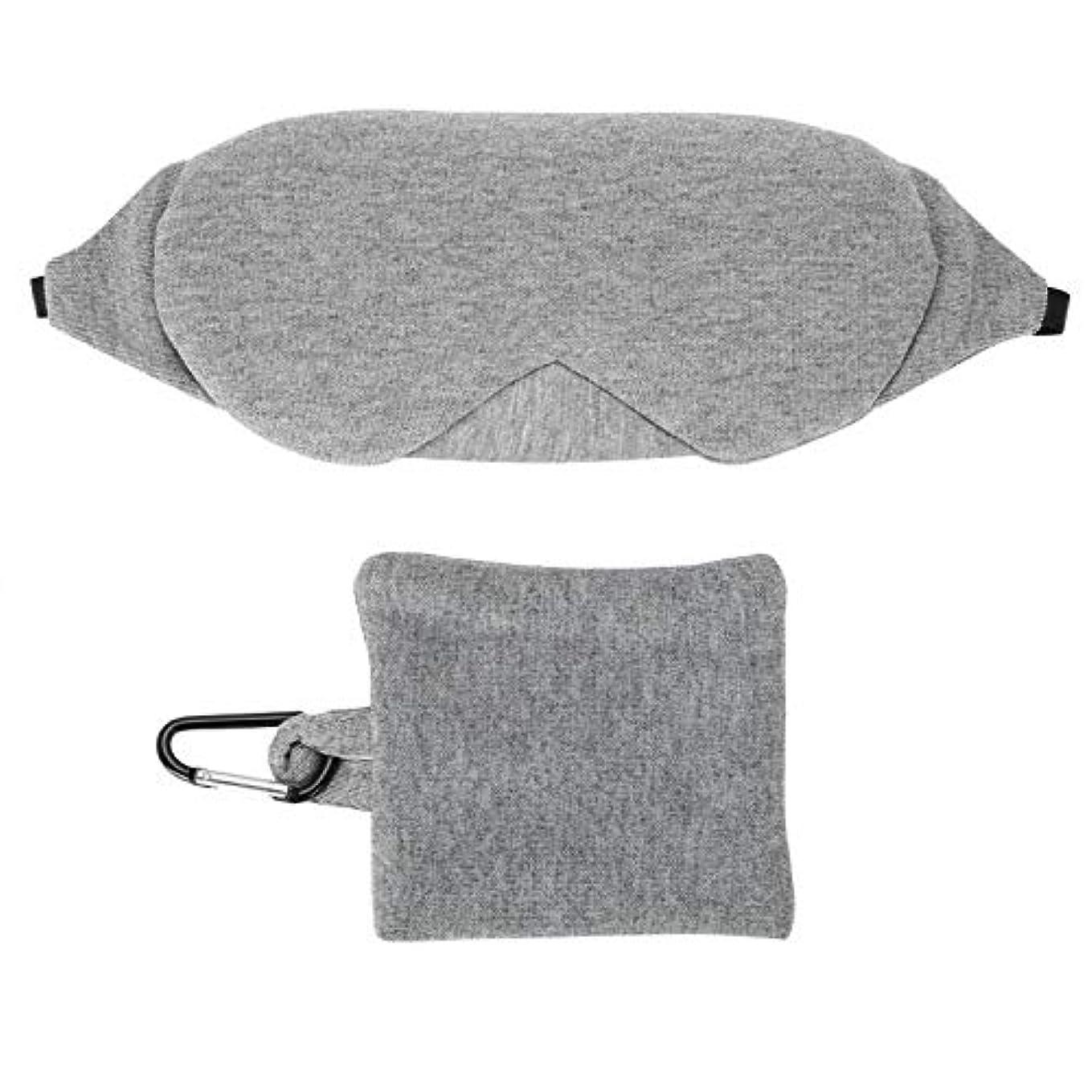 モーター更新誤NOTE 調節可能な睡眠マスク通気性アイシェードカバー睡眠目隠しアイパッチ旅行ツール
