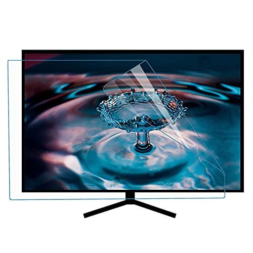 ZLSD 46 Pulgadas Protector De Pantalla HD TV, Anti Luz Azul, Sin Burbuja Lesión Anti-arañazos Película Protectora De Pantalla LCD, Se Adapta a LCD, Led, 4k OLED, QLED,HD-46inch(1017x570MM)