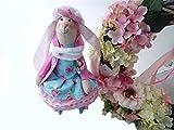 Hase Hase Kinder Spielzeug, Bunny Softie, Neutral Bunny, weiche Baumwolle Bunny, niedlichen Häschen, Ostern, Maileg, handgemachte Kaninchen Spielzeug, Kuscheltier, Puppe
