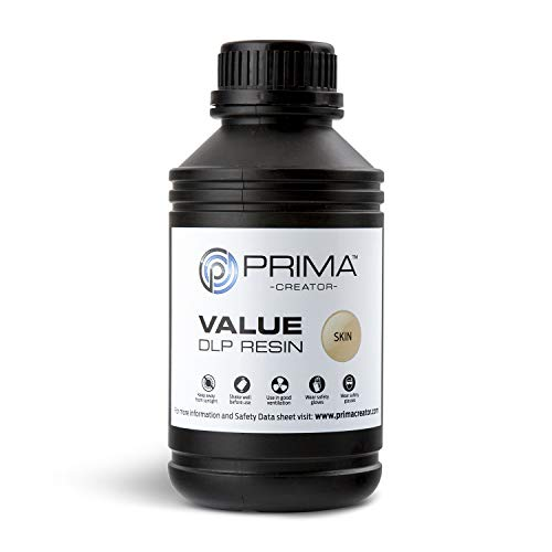 PrimaCreator Value UV/DLP Resina - 500 ml - Pelle