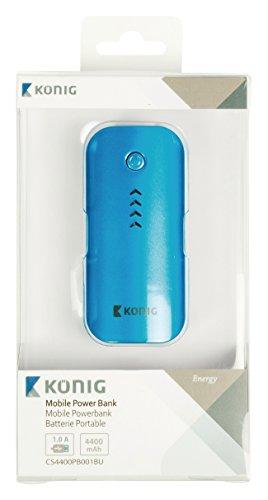 König CS4400PB001BU Powerbank (4400mAh) blau